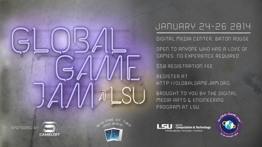 Global Game Jam @ LSU