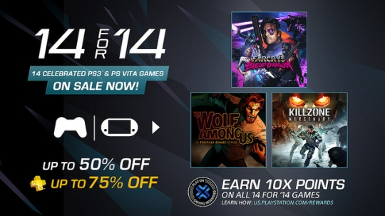 PSN 14 For 14 FEATURE